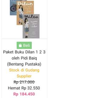 Ebook Novel Dilan (Vol 1-3) Pdf 1.000 halaman