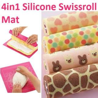 4 in 1 Silicone Swissroll Mat (SL018)