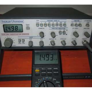 THURLBY THANDAR TG230 2MHz SWEEP/FUNCTION GENERATOR (Qty 4)