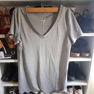 Nike Dri Fit Grey Sports Gym Top Shirt