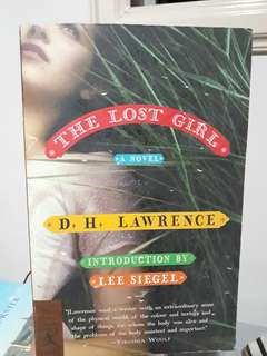 PAYDAY SALE!  The Lost Girl by DH Lawrence