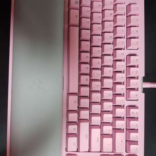 Razer blackwidow te chroma v2 pink