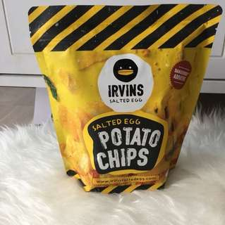 Ready Small Irvins Potato Chips