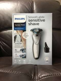 philips smooth glide sensitive shaver