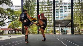 Outdoor MUAY THAI