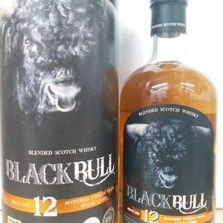 Black Bull 黑牛12y whisky 威士忌 700ml