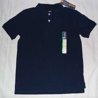 Charity Sale! Authentic Cherokee Boy's Dress Top Polo Shirt Size Medium 8-10 #freedelivery3