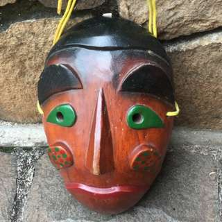 Topeng Wajah Orang Antik