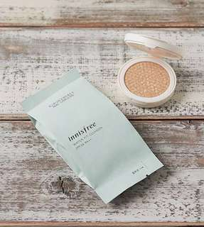 innisfree water fit cushion SPF34/PA++ refill