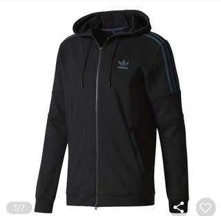 Adidas Zip Hood CF9062 Black