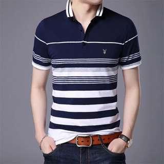 Playboy Stripes Polo Shirt