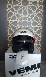 BNIB White Helmet