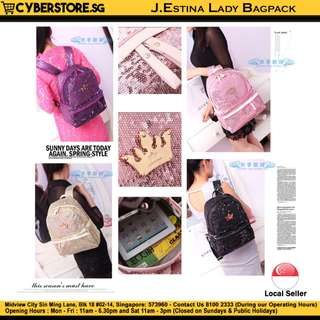 J.Estina Lady Backpack