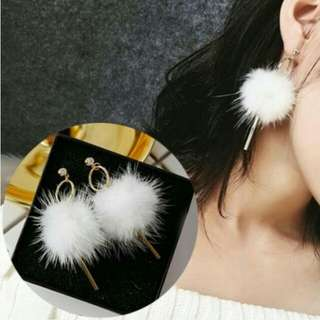 PROMO - Anting Korea Mink Hair Strip