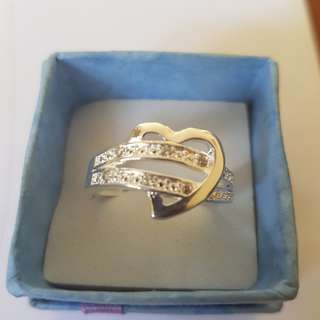 I love hearts ring Size 9
