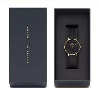 BN DW Watch (and additional rose gold strap) Petite Classic 32mm