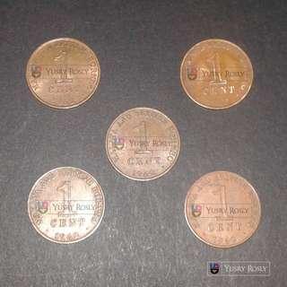 Malaya & British Borneo 1 Cent 1962