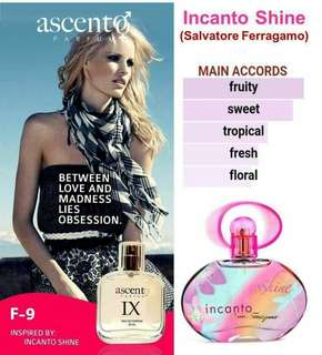 FOR FEMME inspiree by Incanto shine