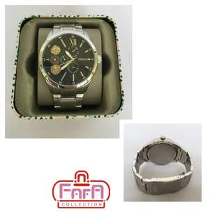 FLYNN MECHANICAL STAINLESS STEEL WATCH