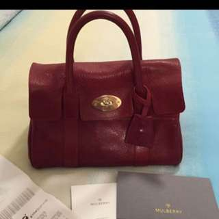 Mulberry baywater hobo bag