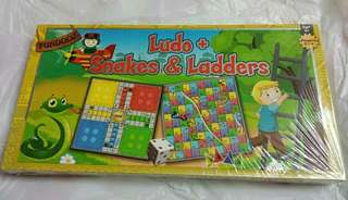 Fundooz Ludo + Snakes and Ladders Game Board