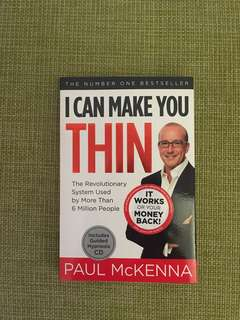 I Can Make You Thin Paul McKenna Diet book.