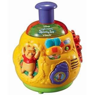 Vtech Winnie The Pooh Light n' Learn Spinning Top
