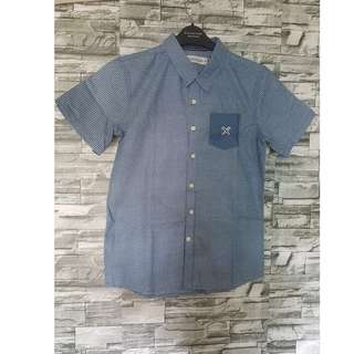 Brand New & Original Regatta Short-sleeved Chambray Polo