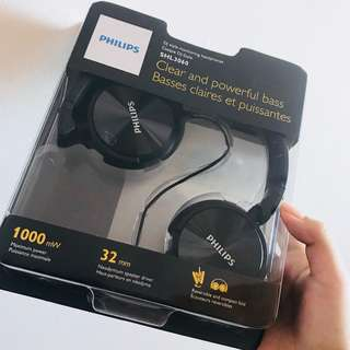 PHILIPS DJ style monitoring headphones SHJ-3060