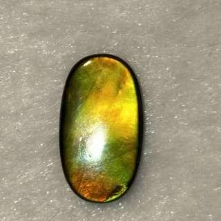 6.65克拉 彩斑菊石
