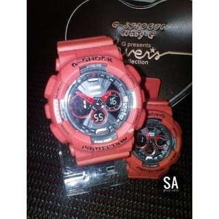 G-SHOCK COUPLE RED ROSE GRED A+ (FREE BOX)