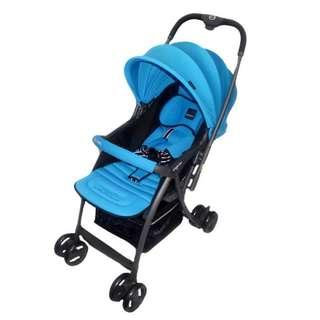 Kereta Dorong Bayi Stroller BabyElle S606 Citilite 2 BLUE