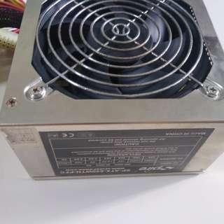 PSU 650W Spire Brand. Stainless steel casing. Computer power supply