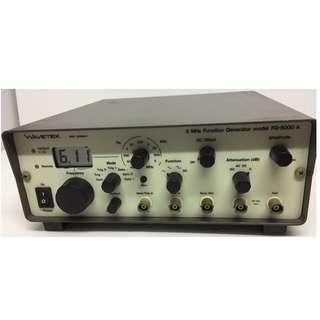 WAVETEK FG-5000A 5MHZ FUNCTION GENERATOR