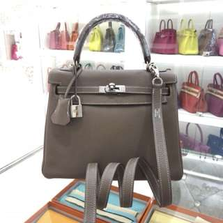 Hermes Kelly 25 大象🐘灰