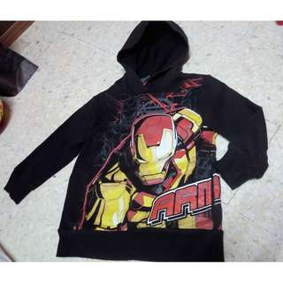 sweater hoodie budak _ IRONMAN by MARVEL