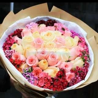Flower bouquet/hand bouquet/birthday Bouquet/proposal bouquet/anniversary bouquet