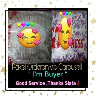 Happiness I'm Buyer , Senang Bangetz Paket Orderan sudah sampai for me . Thanks Sista