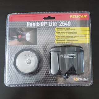 BN Sealed Pelican HeadsUp Lite 2640 (Head lamp)