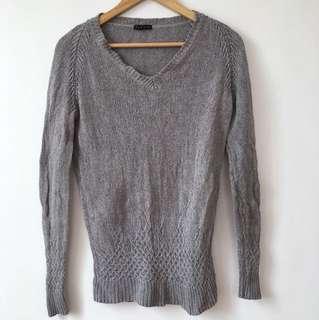 Gray Knitwear Longsleeve
