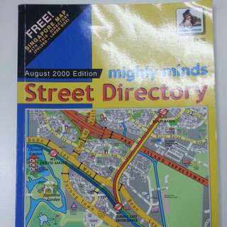 Singapore Street Directory Yr 2000 Version (For Collectors)