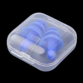 Silicone Ear Plugs Anti Noise Snore Earplugs Comfortable