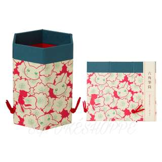 OEDO HEXAGON STATIONERY BOX [TOKYO DX OPENING] - POKEMON CENTER EXCLUSIVE