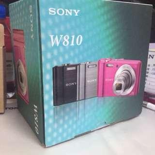 🚚 SONY 數位相機DSC-W810(桃紅)