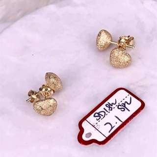 Saudi Gold 18k Earrings