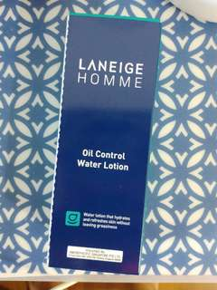 BN Laneige Homme Oil Control Water Lotion