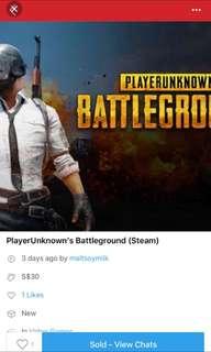 PlayerUnknown Battleground @ 85%