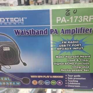 WAISTBAND PA AMPLIFER