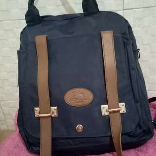 Tas backpack navy