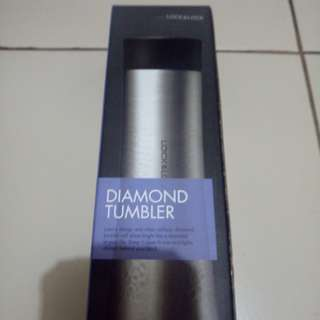 Diamond tumbler (gold)